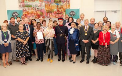 Volunteers awarded highest Queen's award for service