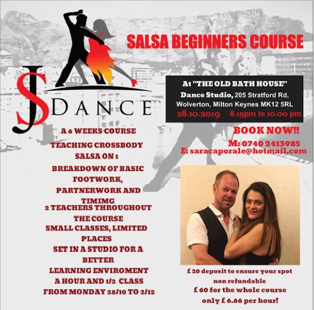 New salsa beginners class
