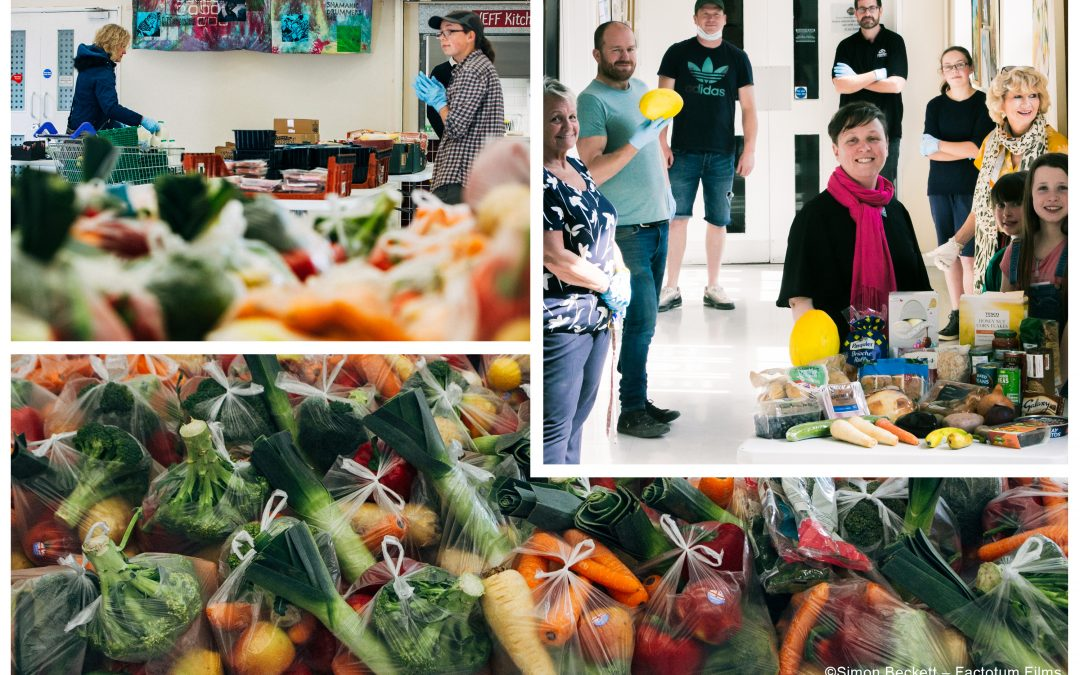 Uniting surplus food with people who need it