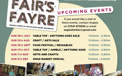 Fair's Fayre: monthly COVID safe table-top sales events